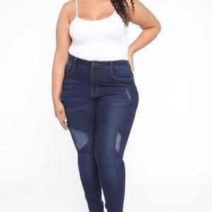 Alina skinny jeans size 18